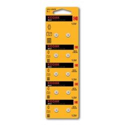 10 Piles Kodak AG4 LR626 / 377 Pile bouton 1,5 V