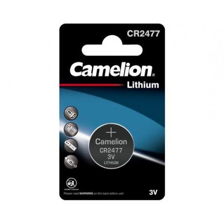 Pile électronique lithium CR2477 Camelion
