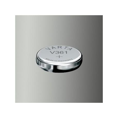 Pile de montre Varta V361, SR58, SR721W Haute Impédance