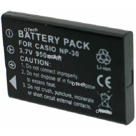 Batterie de remplacement pour NP-30 Black 3.7V L9/10