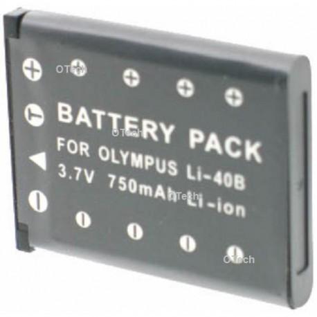 Batterie de remplacement pour Li-40B / NP-45 black 3.7V L6/8