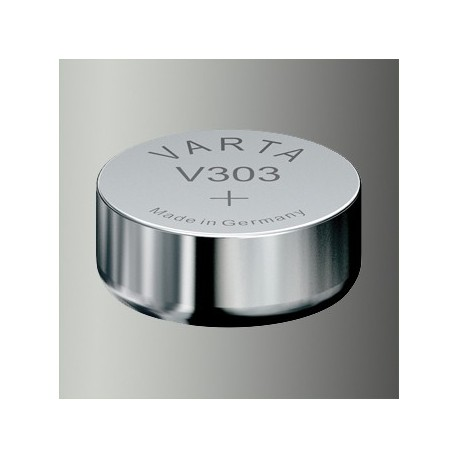 Pile de montre Varta V303, SR44, SR1156S