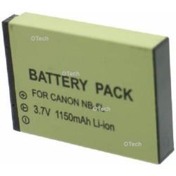 Batterie de remplacement pour NB-5L 3.7V L11/12
