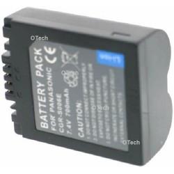 Batterie de remplacement pour CGR-S006E black 7.4V L7/8
