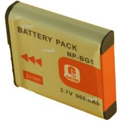 Batterie de remplacement pour NP-BG1 3.7V L9/11
