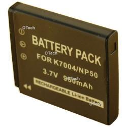 Batterie de remplacement pour PENTAX D-LI68 / K7004 3.7V L6/10