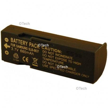 Batterie de remplacement pour SAMSUNG SLB-0637 3.7V L6/7