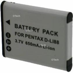 Batterie pour appareil photo PENTAX D-LI88 3.7V L6/7