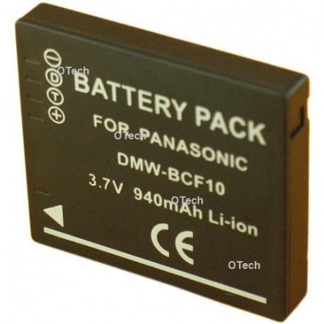Batterie pour appareil photo PANASONIC DMW-BCF10 3.7V L9/10