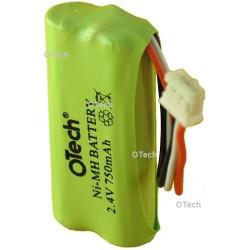 Batterie téléphone sans fil 2,4V 750mAh NiMh